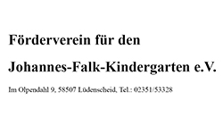 Förderverein für den Johannes-Falk-Kindergarten