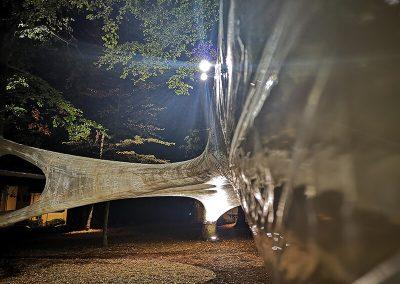 Loher Wäldchen - Tape Installation Foto Corvinius