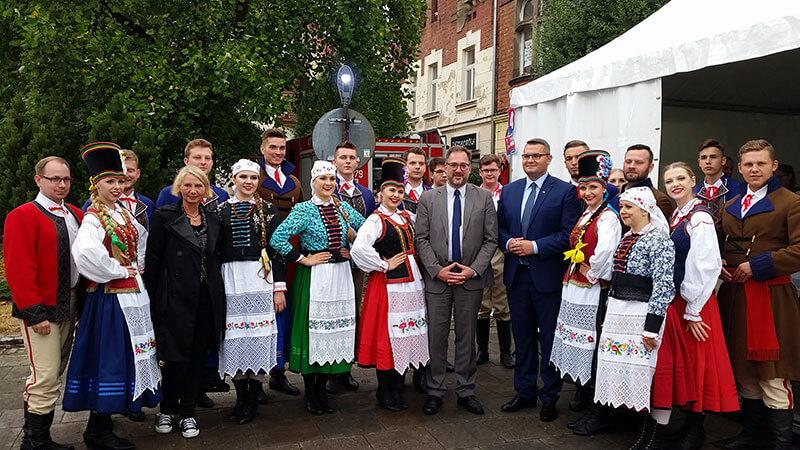 Besuch in der Partnerstadt Myślenice